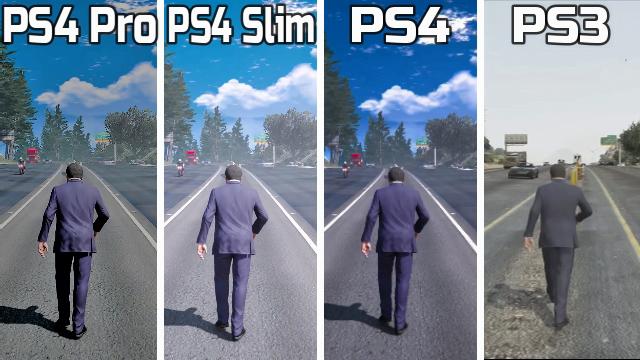 PS4 pro vs PS4 vs ps4 slim vs ps3